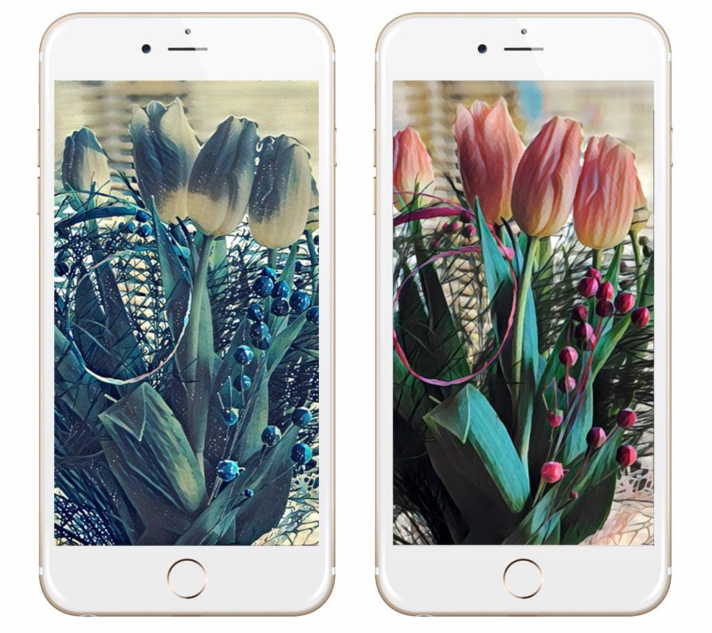 aplikacje do edycji zdjec w telefonie prisma