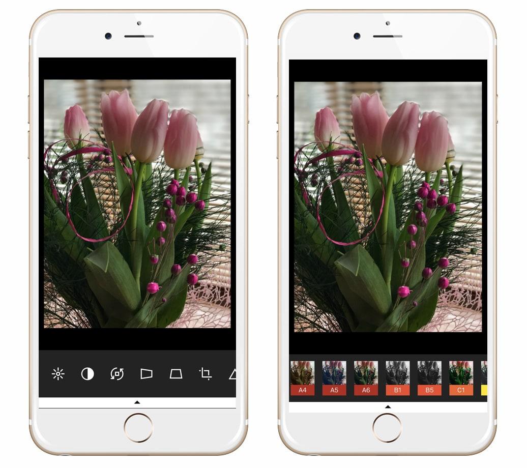aplikacje do edycji zdjec w telefonie vsco