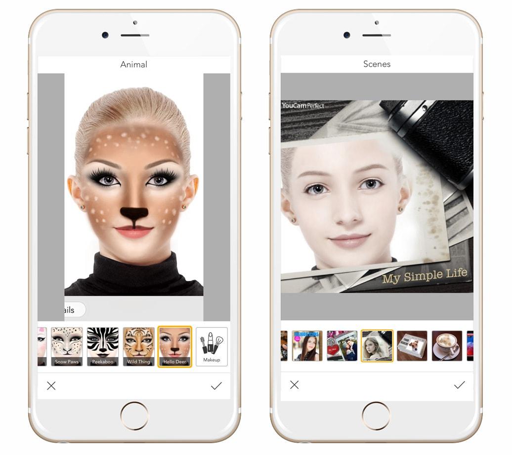 aplikacje do edycji zdjec w telefonie youcam fun