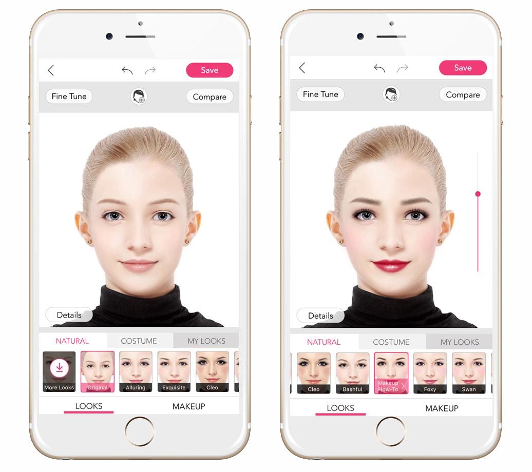 aplikacje do edycji zdjec w telefonie youcam makeup