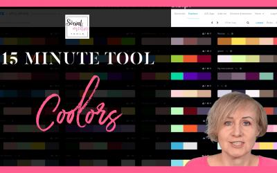 Coolors – jak tworzyć piękne palety kolorystyczne za darmo
