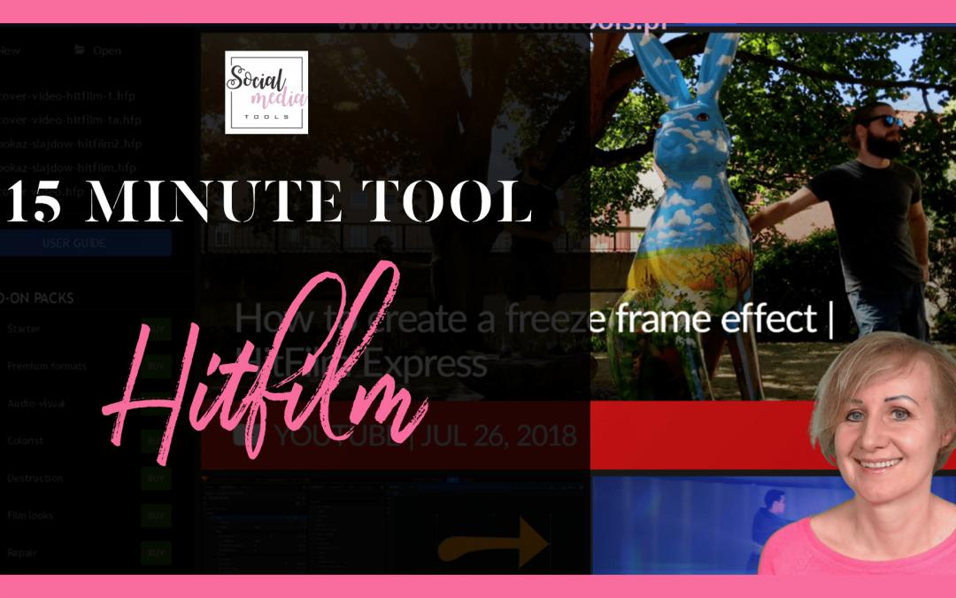 Hitfilm Express – darmowy montaż wideo tutorial