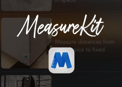 Aplikacja MeasureKit