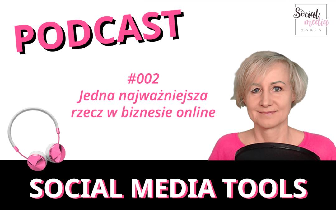 SMT #002 Jedna najważniejsza rzecz w biznesie online