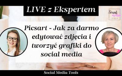 Picsart – jak za darmo edytować zdjęcia i tworzyć grafiki do social media
