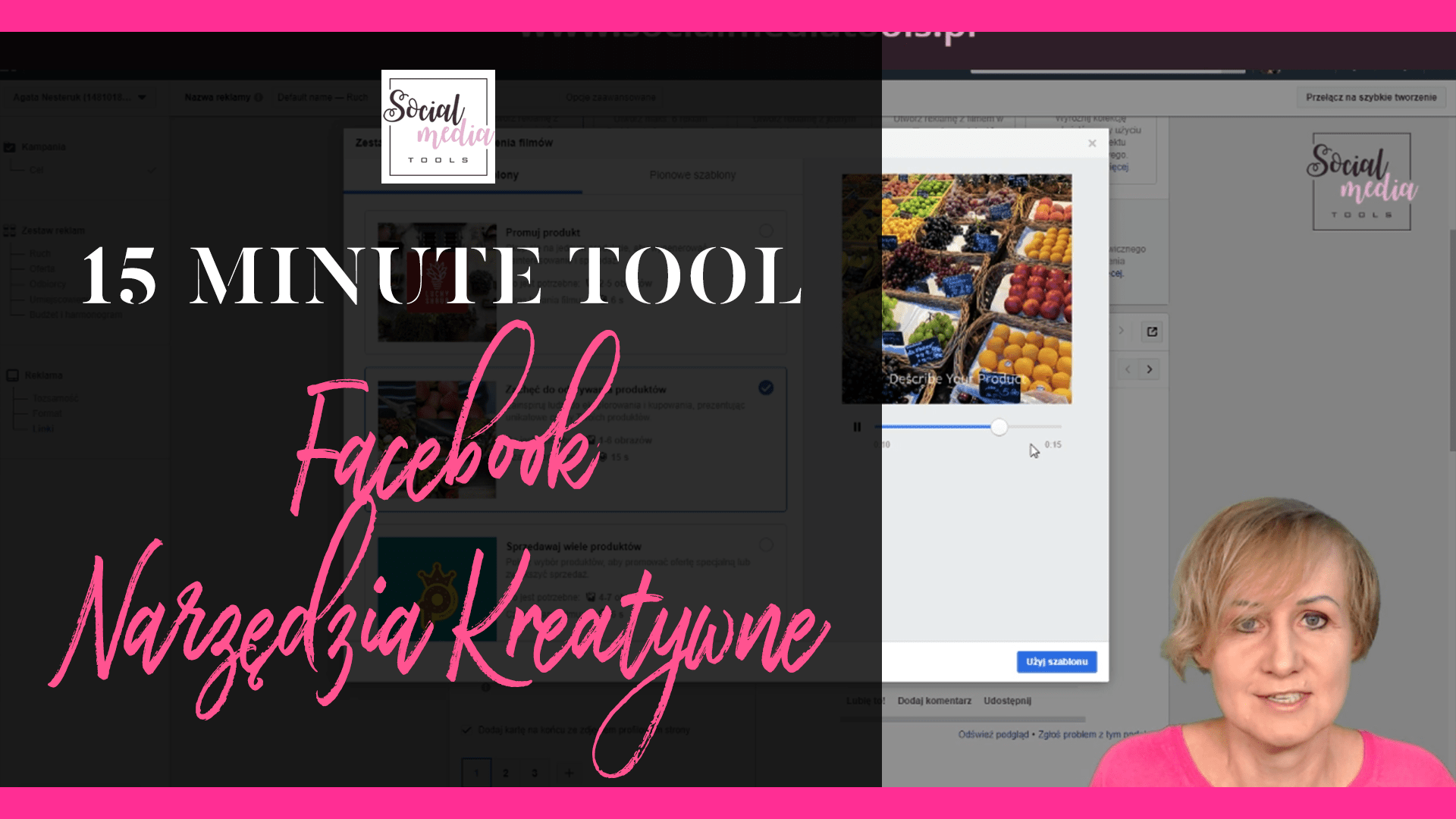 facebook narzędzia kreatywne
